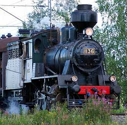 Finnish Steam Train